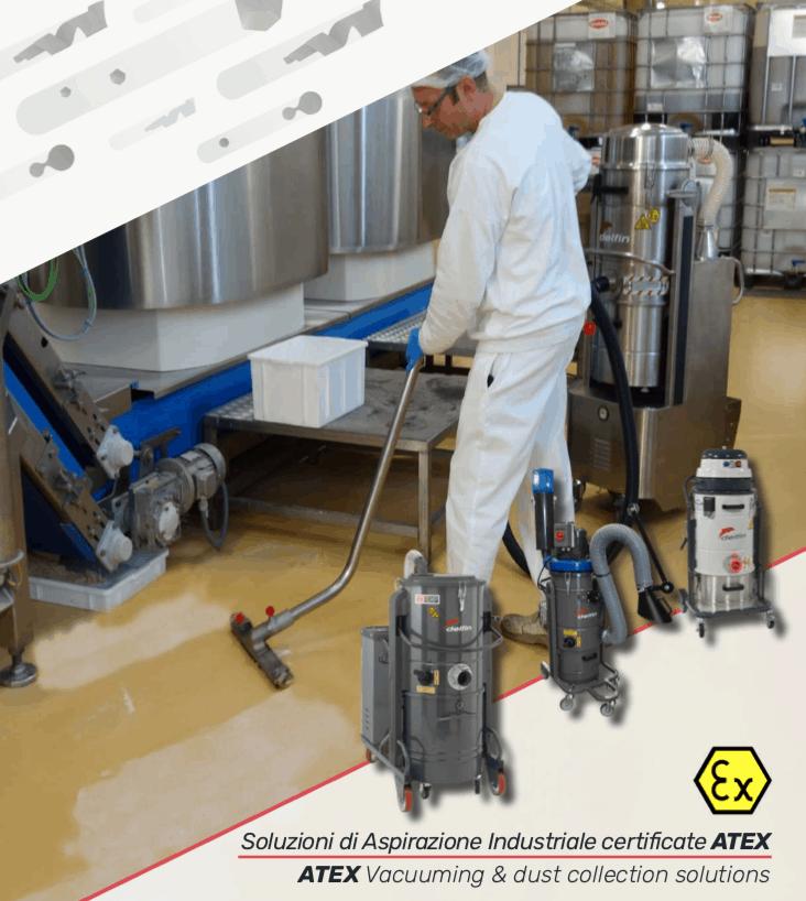 Области применения промышленных пылесосов